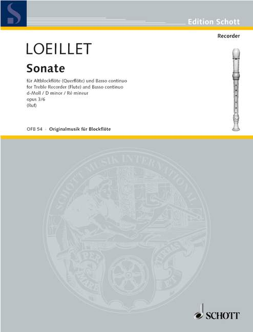 Six-Sonatas-op-3-No-6-D-minor-Loeillet-Jean-Baptiste-John-treble-recorder